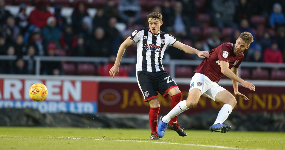 Northampton Town v Grimsby Town - Sky Bet League Two