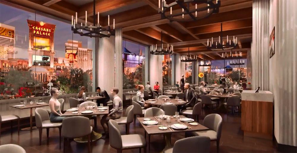 Gordon Ramsay Hell's Kitchen dining rendering