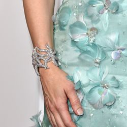 Cate Blanchett in a Tiffany & Co. cuff.