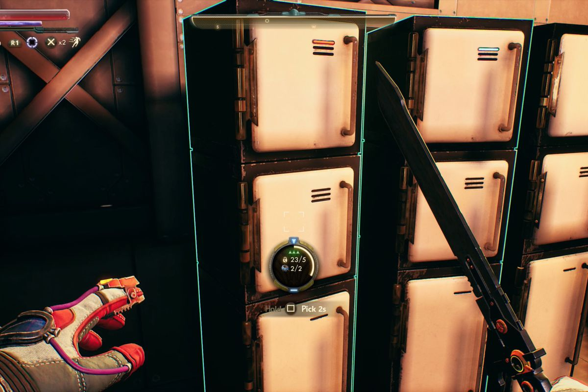 The Outer Worlds lockpicking