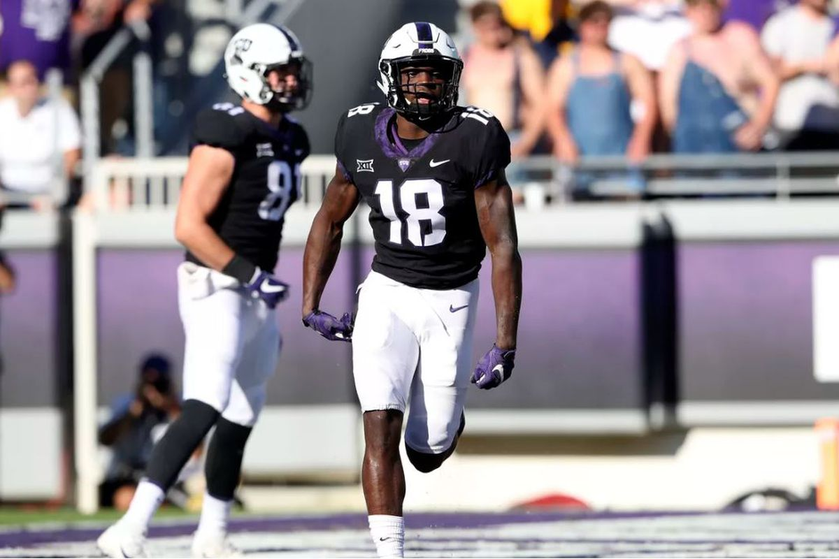 Sophomore Jalen Reagor is set to highlight TCU s wide receiver corps in  2018. Kevin Jairaj-USA TODAY Sports d50497883