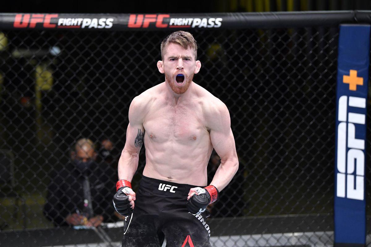Cory Sandhagen will now take on Petr Yan at UFC 267.