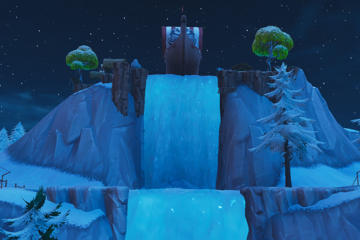 7 waterfalls in fortnite