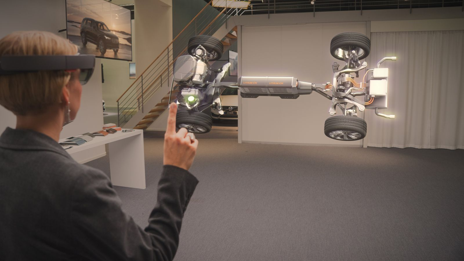 Microsoft and Volvo's new HoloLens showroom is fascinating