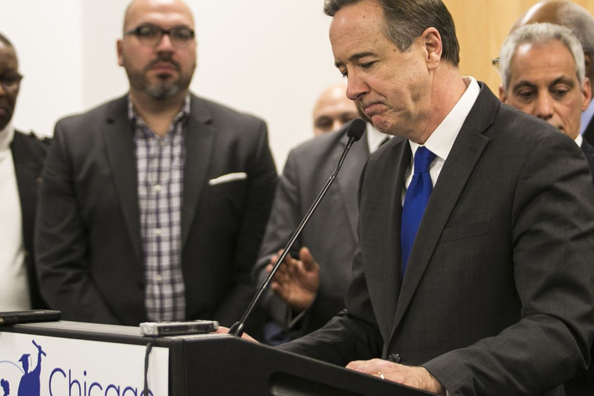 Under fire, CPS' Forrest Claypool quits