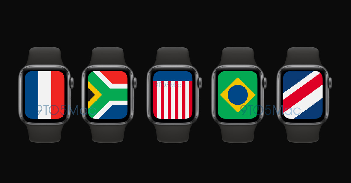 Leaked watchOS 7 code reveals new 'International' watchface thumbnail