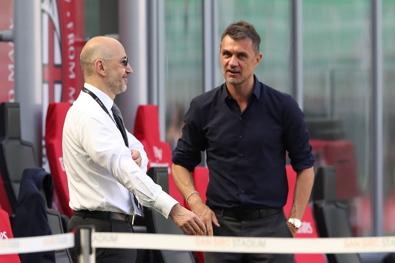 Ivan Gazidis and Paolo Maldini Have A Positive Meeting To Keep The Club Legend At AC Milan