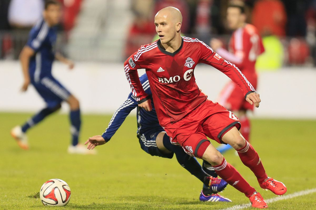 Bradley and Defoe Dp'd Vancouver for a 2-1 victory in the first leg.