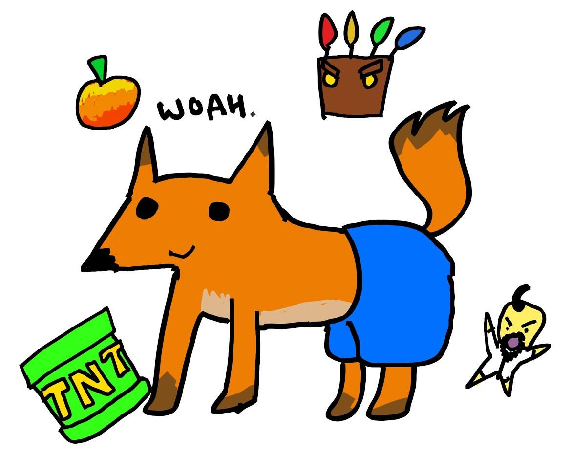 Polygon tries to draw Crash Bandicoot from memory 8