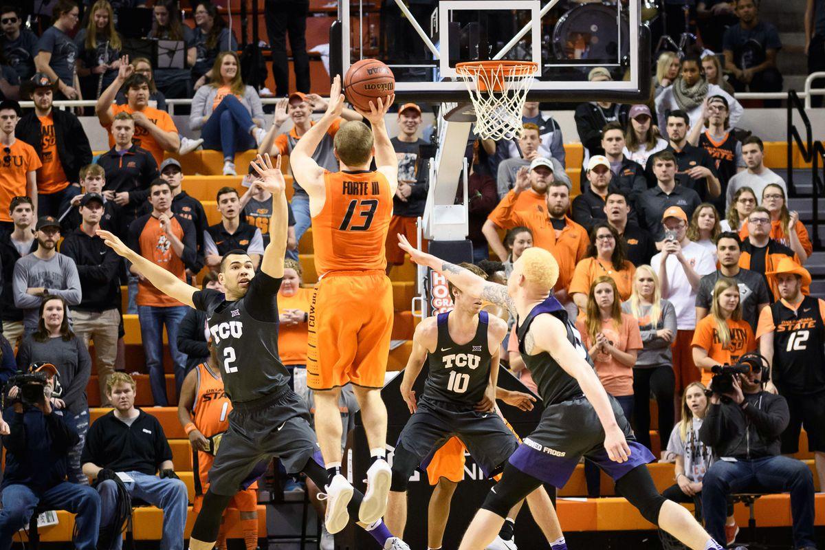 NCAA Basketball: Texas Christian at Oklahoma State
