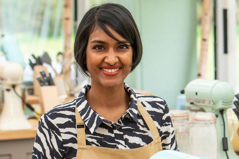 Priya, a contestant on Great British Bake Off 2019
