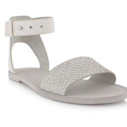 "<a href=""https://www.stanleykorshak.com/products/Sawyer-2-Vanilla-Sandal/9931"">Vince Sawyer 2 Summer Sandal</a>, $105"