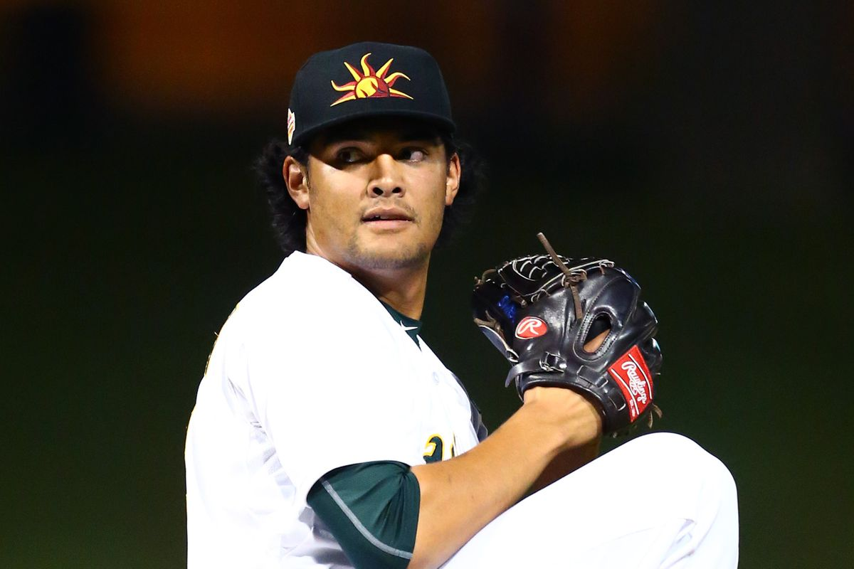 Sean Manaea is ranked #45 overall in the Baseball Prospectus 2016 Annual Top 101 prospects.
