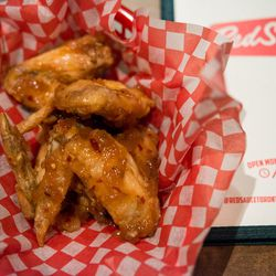 Or Wings Agrodolce ($9/half pound)