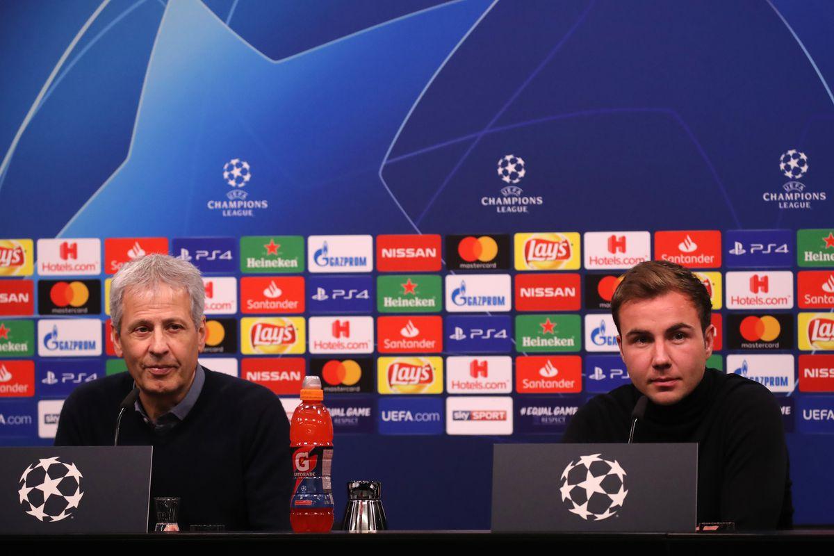Borussia Dortmund Training and Press Conference