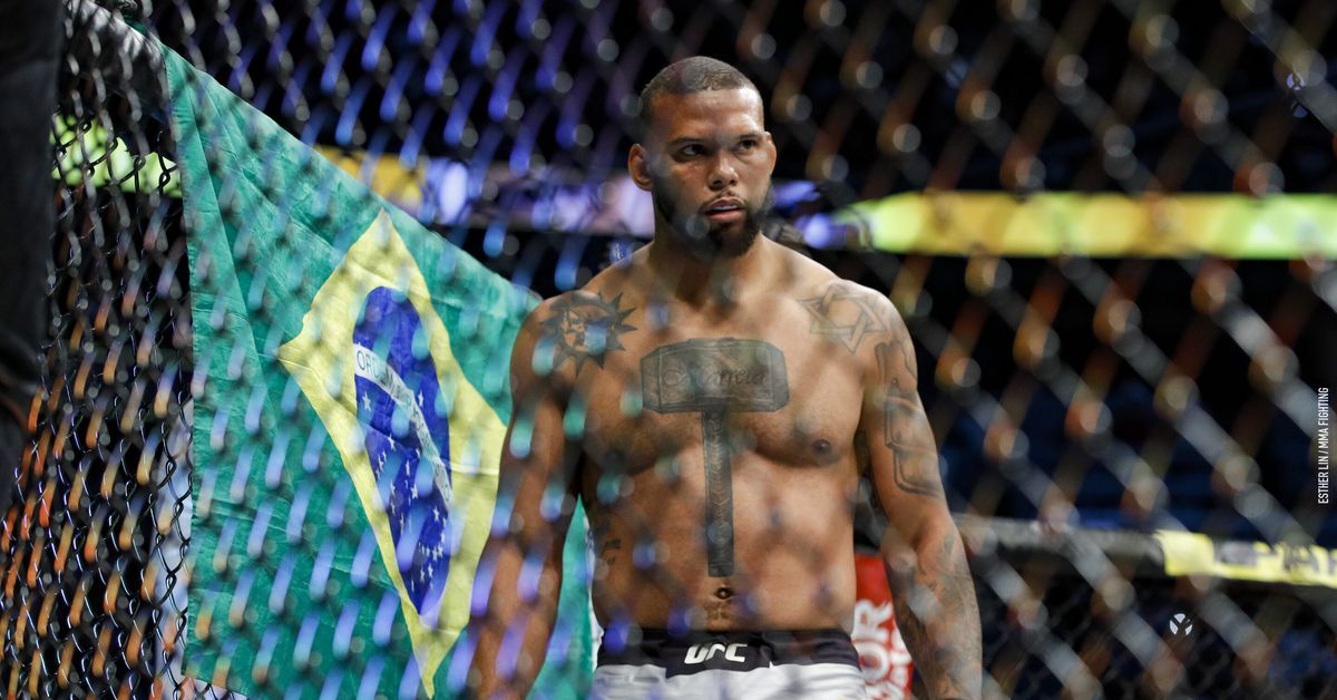 Thiago Santos tests positive for COVID-19, Oct. 3 fight against Glover Teixeira canceled