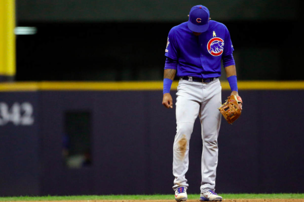 E-gads! Brewers expose depleted Cubs' holes and shortcomings in 3-2, walk-off win at Miller Park