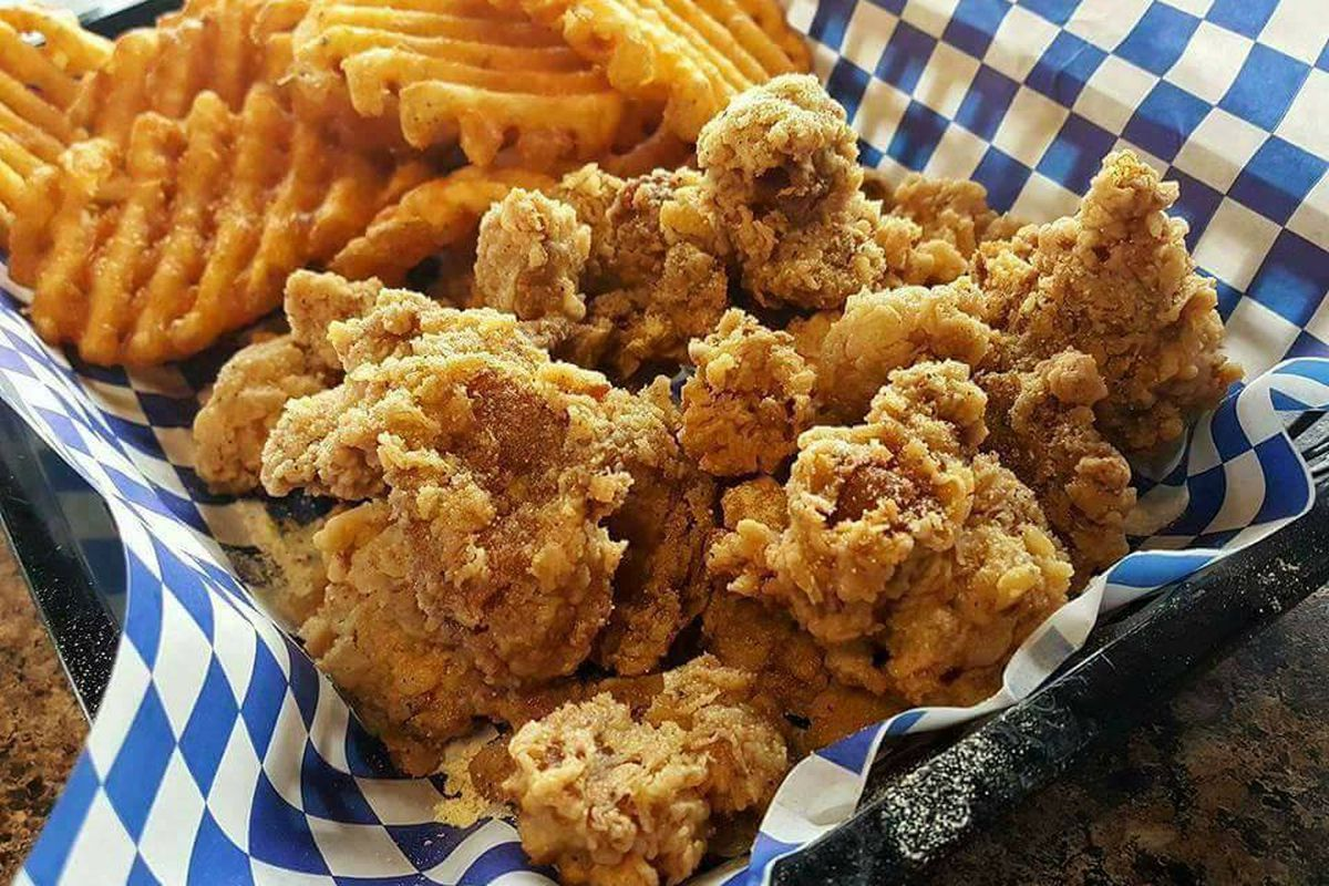 Fried chicken from The Rolling Rooster