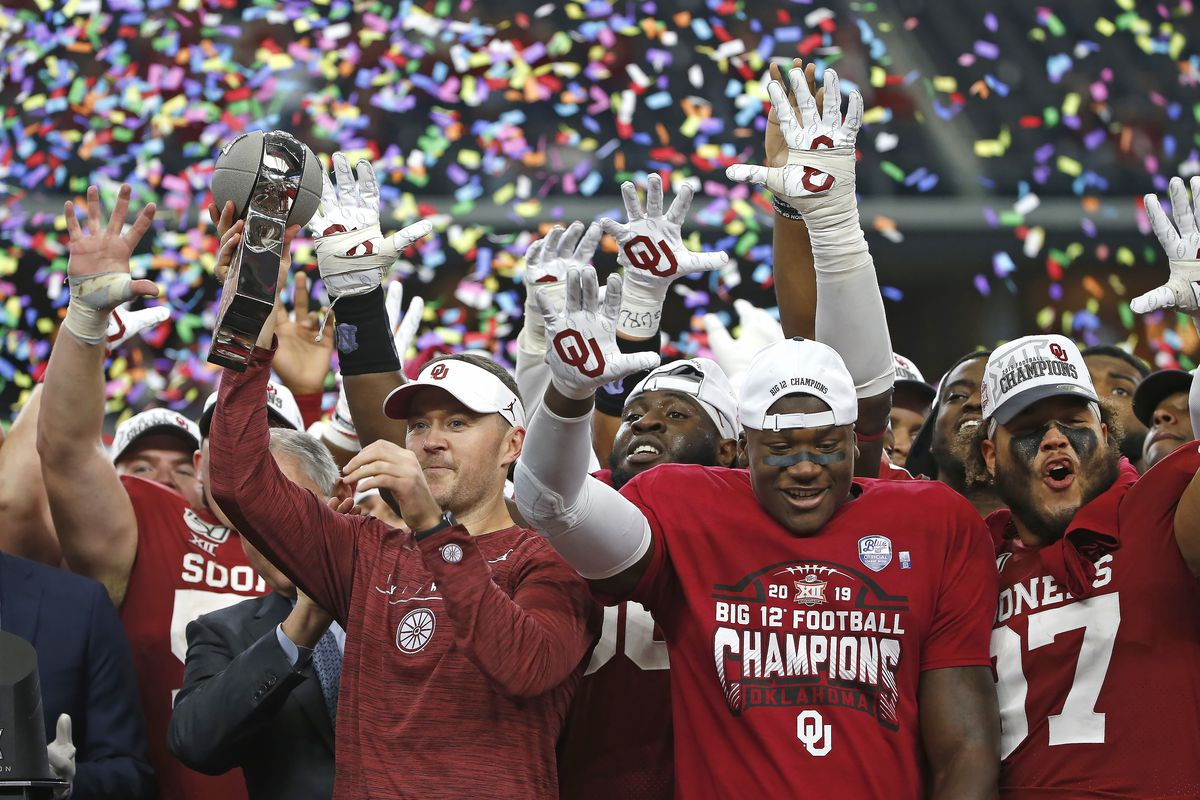 Oklahoma Football Big 12 Power Rankings For 2020 Crimson And Cream Machine