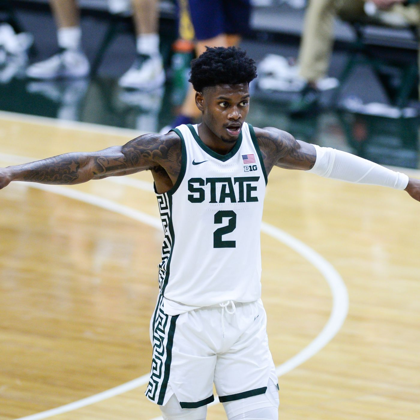 Three Spartans Break Into Espn S Best Available Nba Prospects List The Only Colors