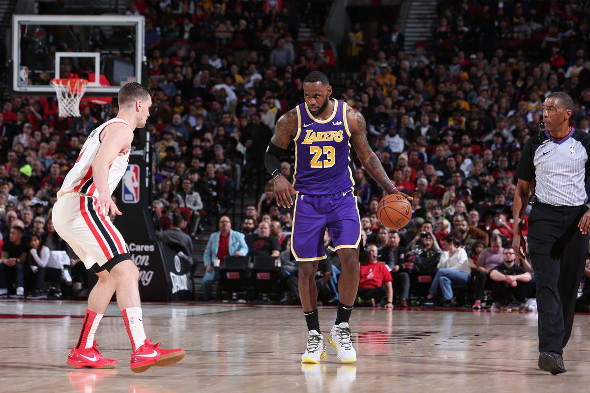 Lakers vs. Trail Blazers Final Score: L.A. finishes road ...