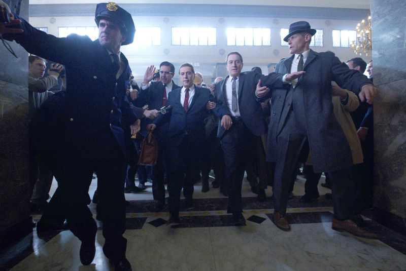 A scene from The Irishman