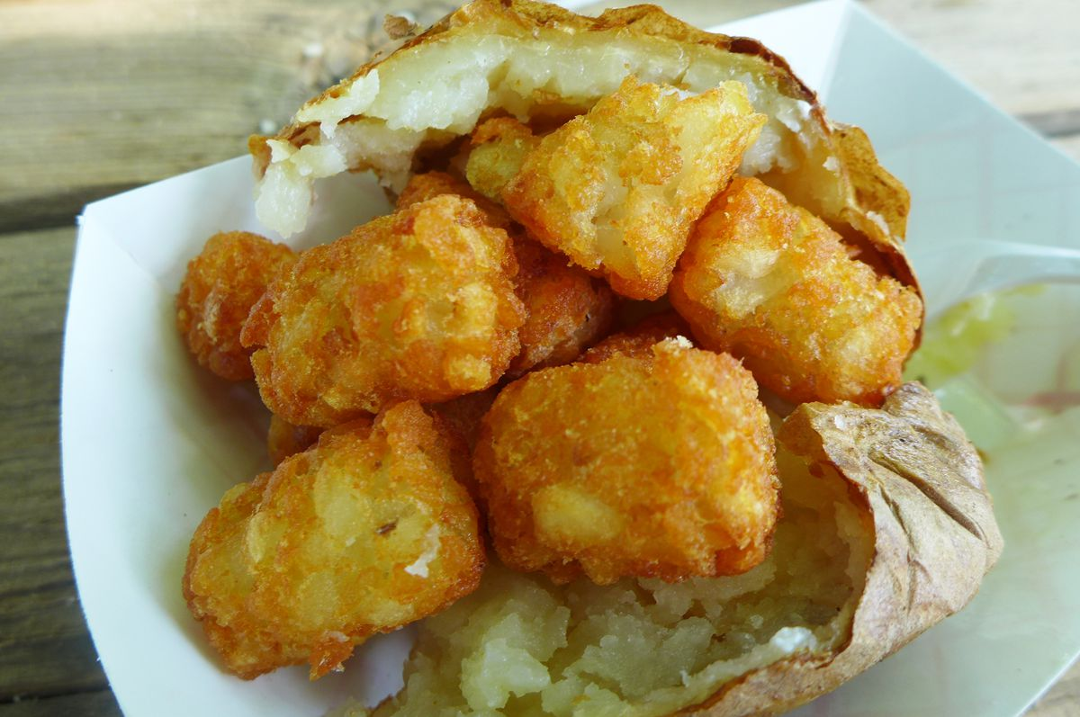 Baked potato New York State Fair 2021
