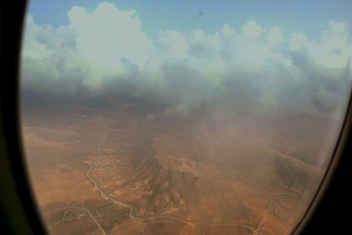Airplane smog
