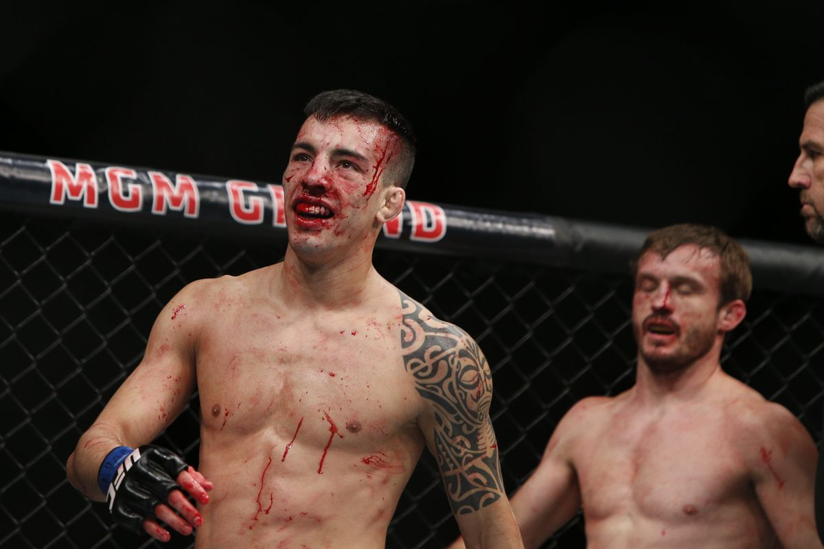 Thomas Almeida will answer media questions during the UFC Fight Night 88 post-fight press conference.