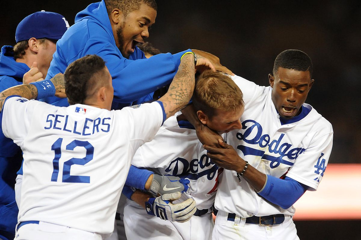 Nearly every game at Dodger Stadium has ended in a celebration this season.