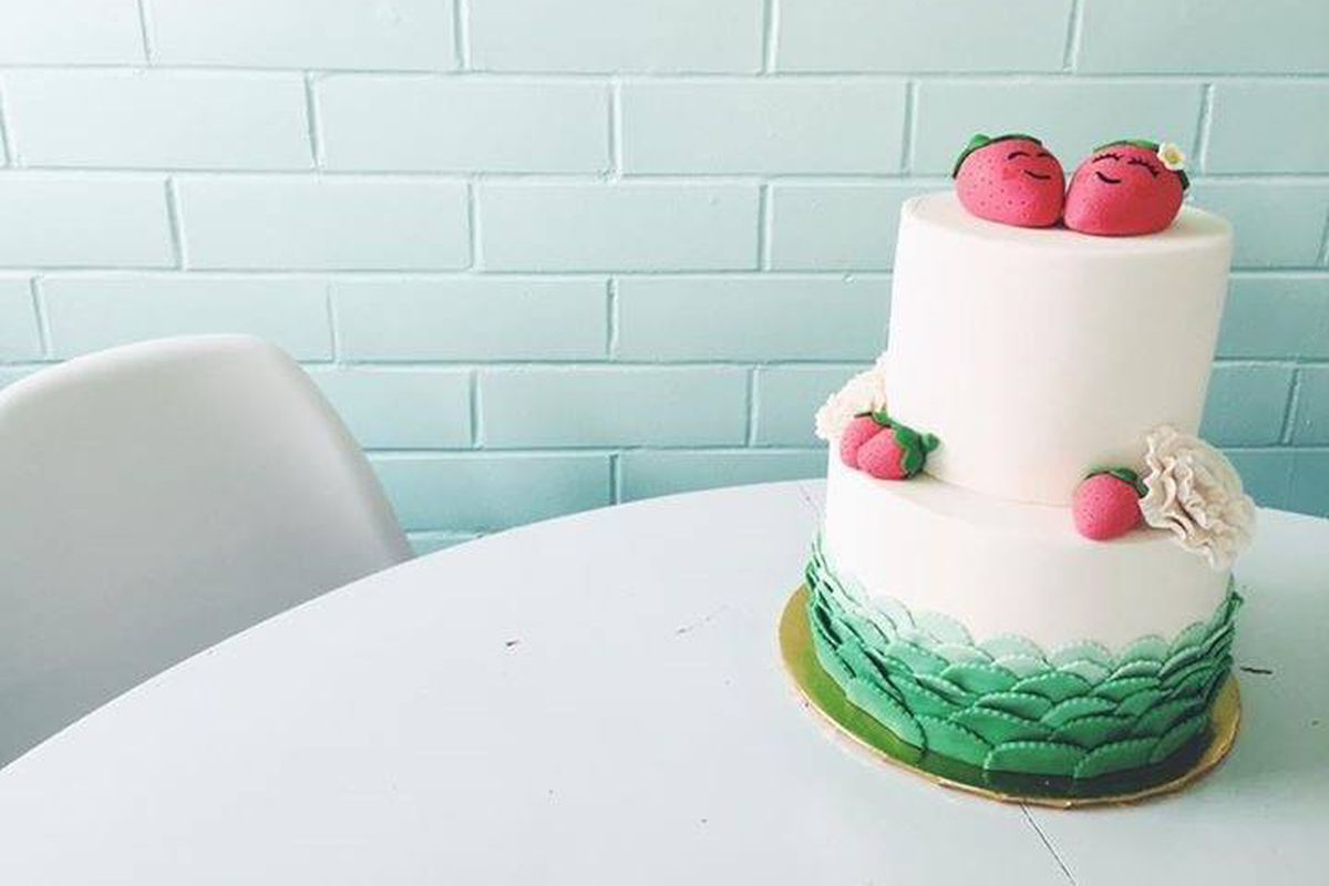 A cake from Quack's