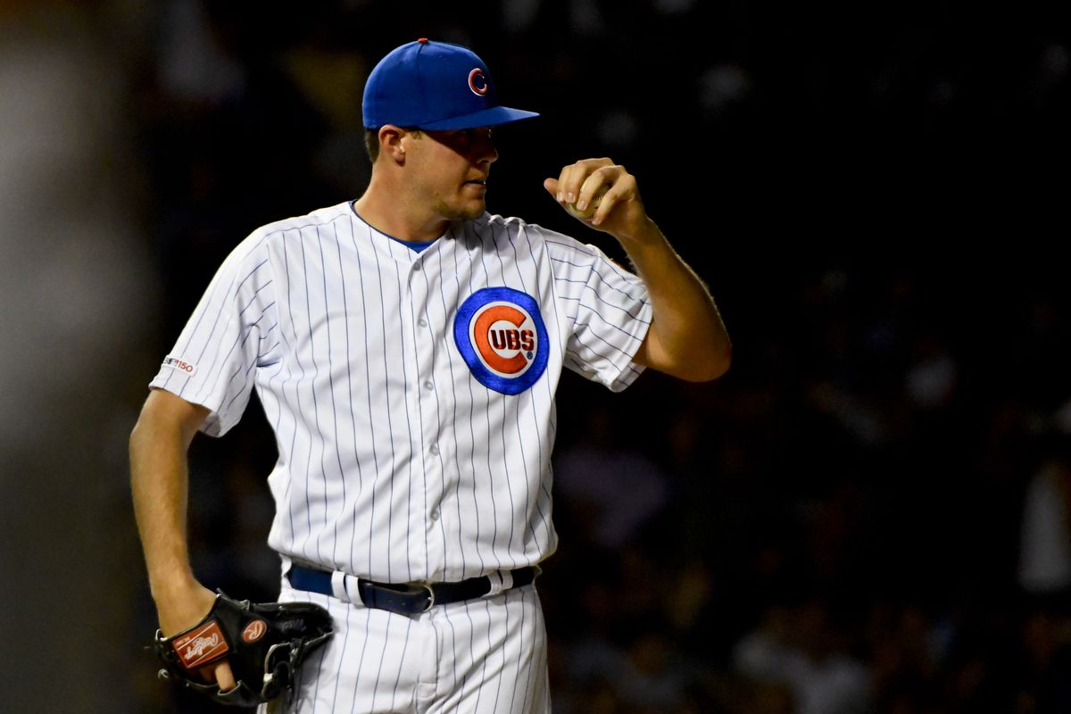 Cubs pitcher Brad Wieck was placed on the 10-day IL Friday with an irregular heartbeat.