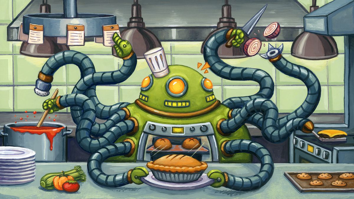 Are Robots Really Destined To Take Over Restaurant Kitchens Eater