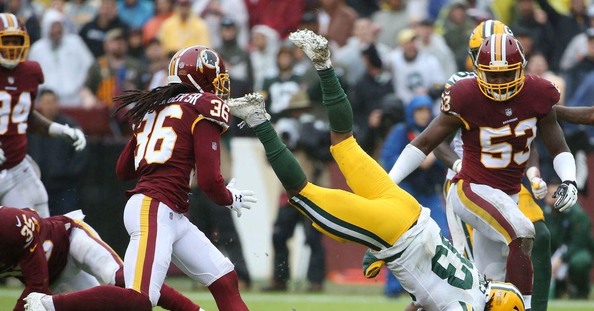 NFL Week 14: Washington Redskins vs Green Bay Packers 3rd Quarter
