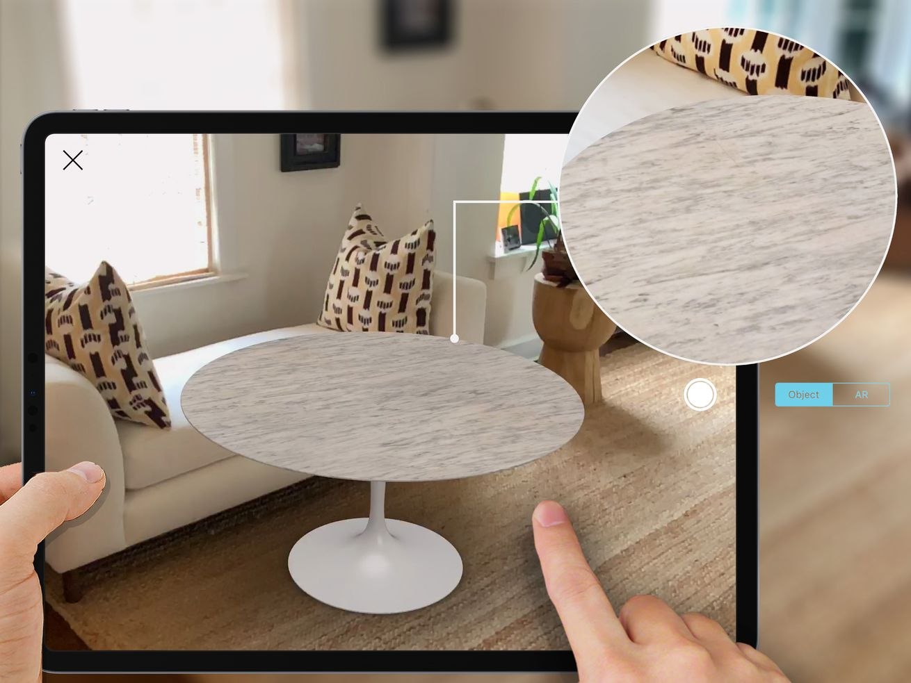 Augmented reality app now lets you visualize Knoll furniture in your home