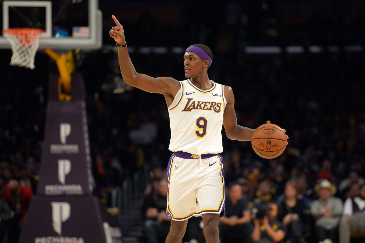 Image result for rajon rondo lakers usa today