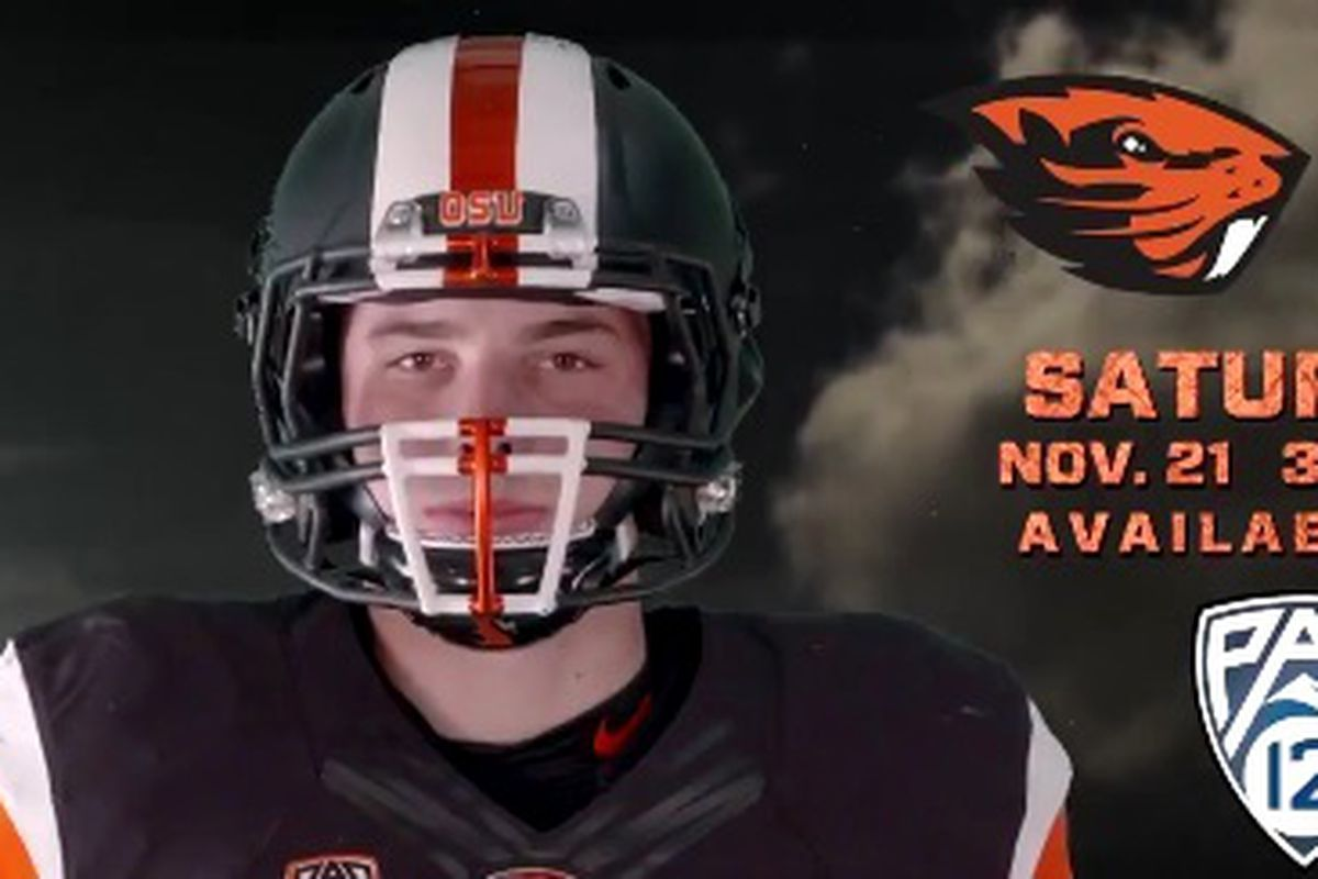 It's classic Black from head to toe for Senior Day for the Beavers.