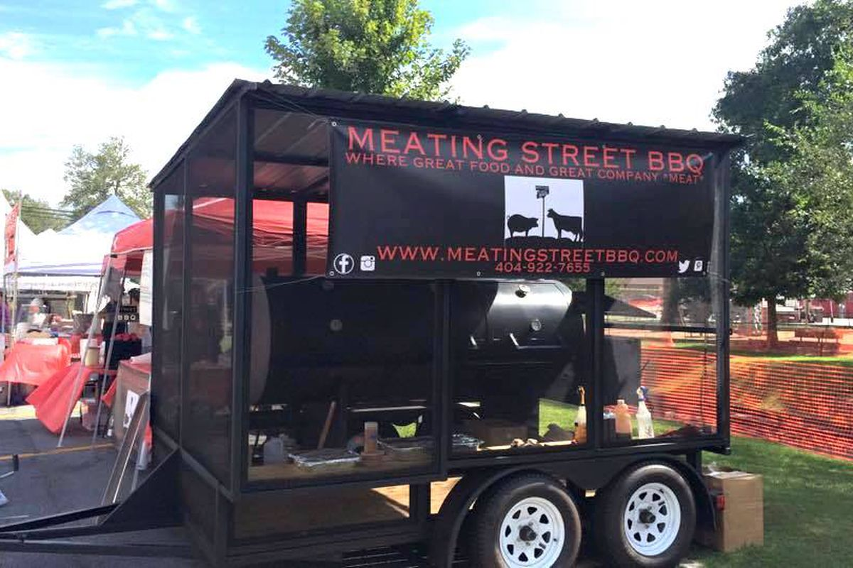 A Meating Street BBQ pop-up