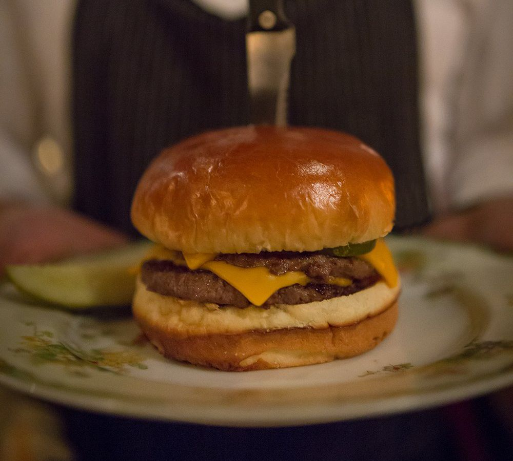 """<span data-author=""""2187660"""">Grilled Cheeseburger at Bavette's Steakhouse &amp; Bar </span>"""