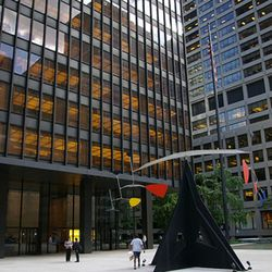 """The <a href=""""http://modernartobsession.blogs.com/modern_art_obsession/2006/06/calder_mobile_a.html"""" rel=""""nofollow"""">Seagram Building</a>, which replaced the Montana"""