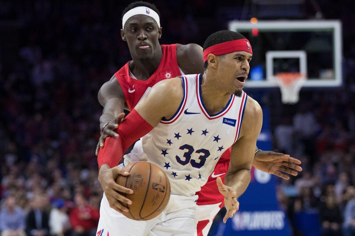 NBA: Playoffs-Toronto Raptors at Philadelphia 76ers