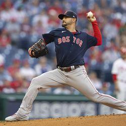 Martín Pérez, Red Sox starting pitcher on Friday