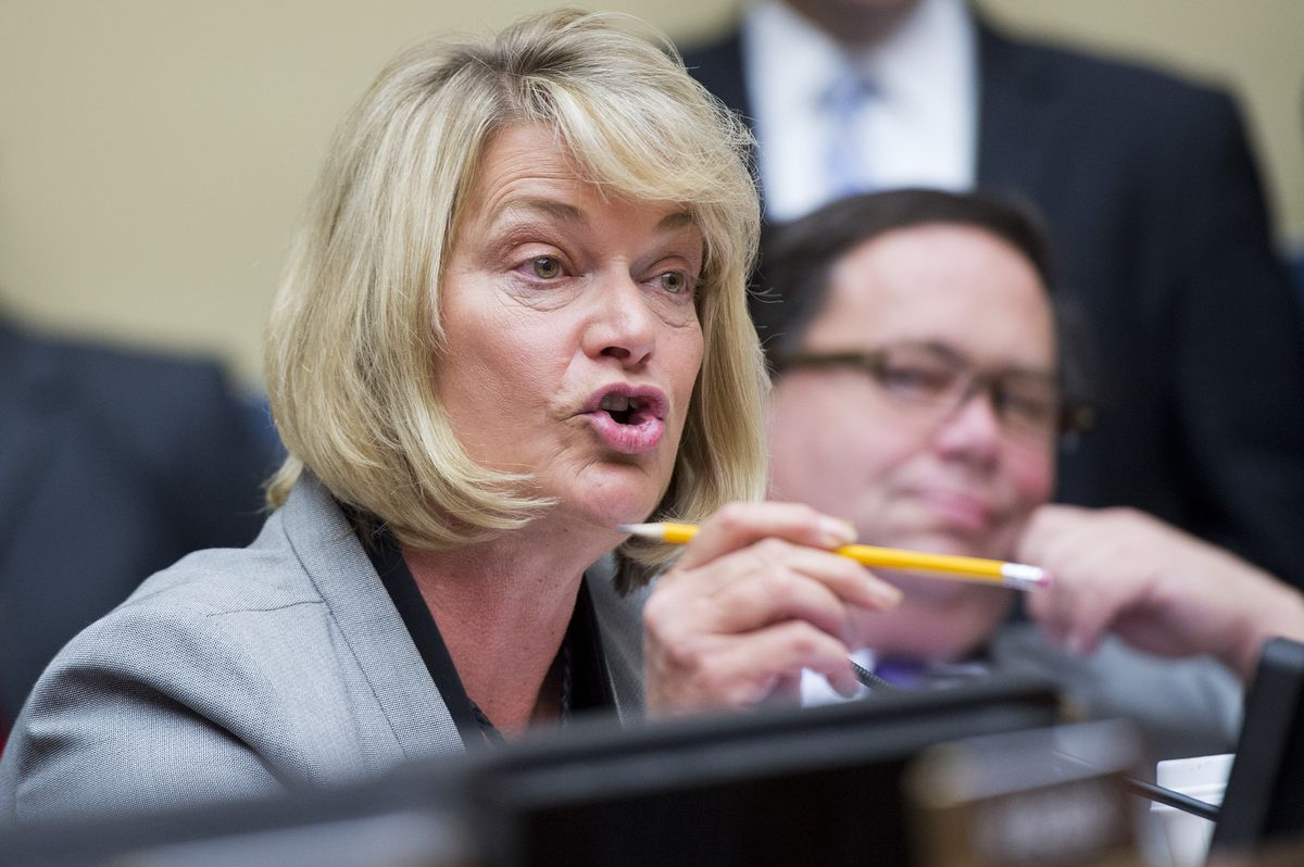 Rep. Cynthia Lummis (R-WY), is a member of the House Freedom Caucus (Tom Williams/CQ Roll Call/Getty)