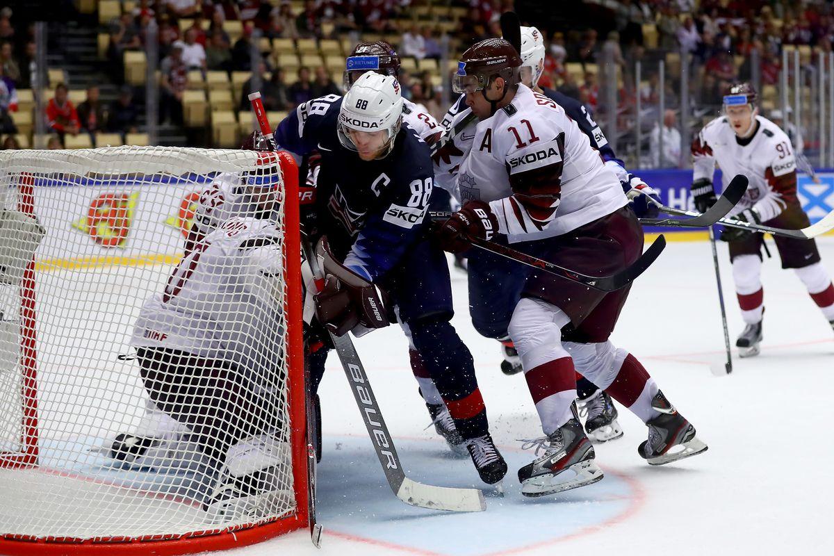 United States v Latvia - 2018 IIHF Ice Hockey World Championship