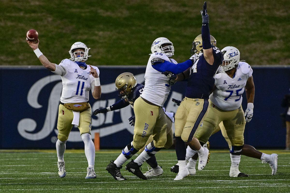 NCAA Football: Tulsa at Navy