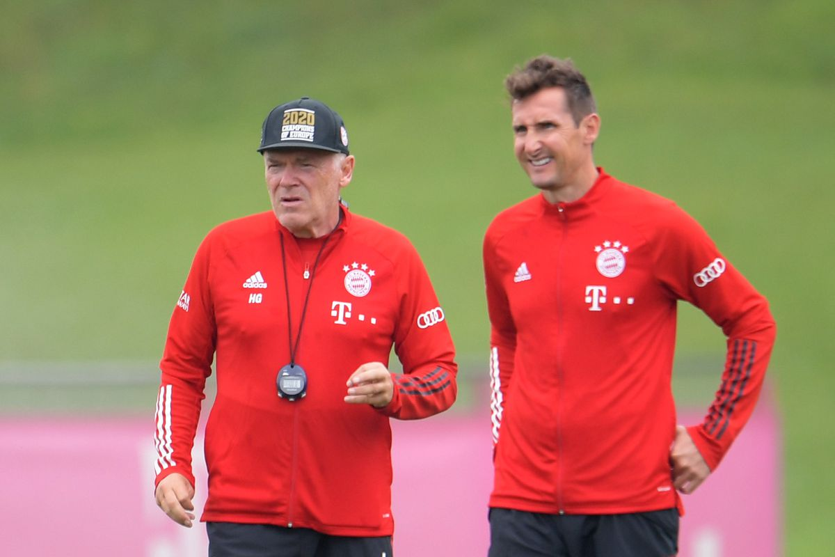 Bundesliga Training FC Bayern