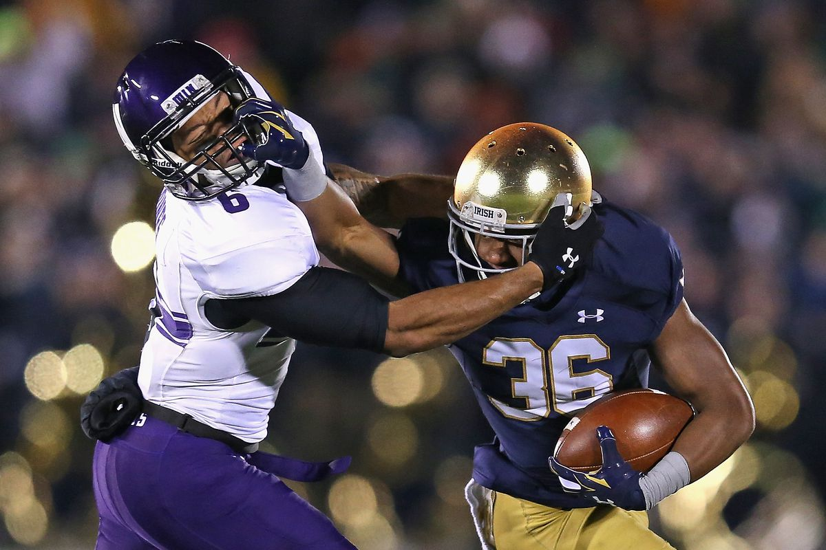 Northwestern v Notre Dame