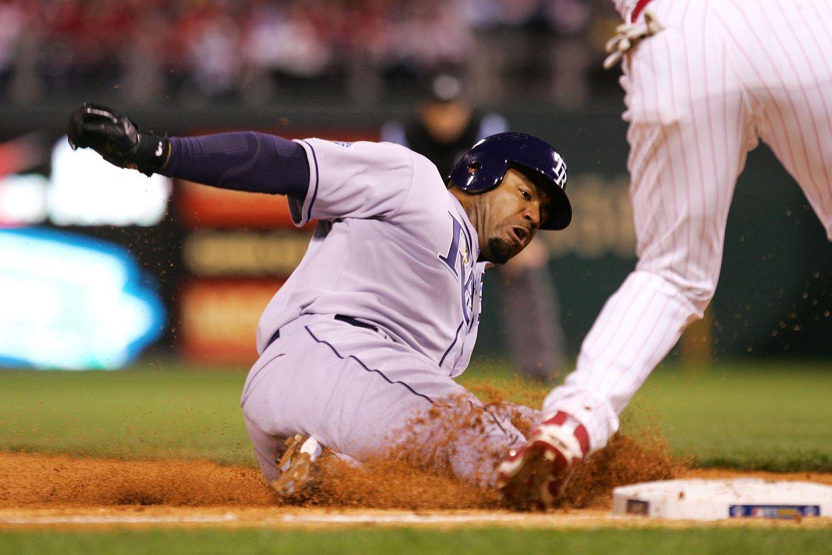 World Series: Tampa Bay Ray s v Philadelphia Phillies, Game 3