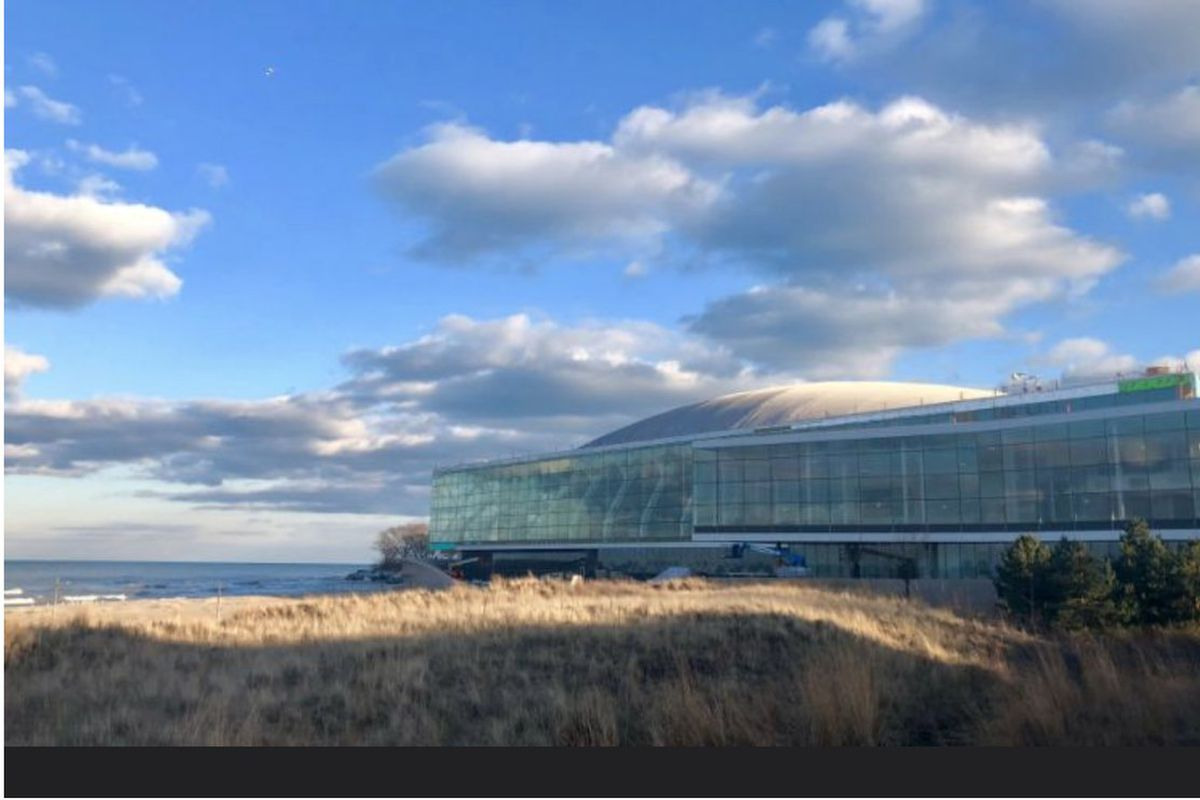 Northwestern's New Basketball Arena, Fieldhouse: Bread and ...
