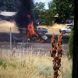 Four people are reported dead after a small plane crashed onto I-15 in Riverdale on Wednesday, snarling freeway traffic.
